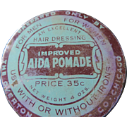 Vintage Aida Pomade Hair Dressing Tin