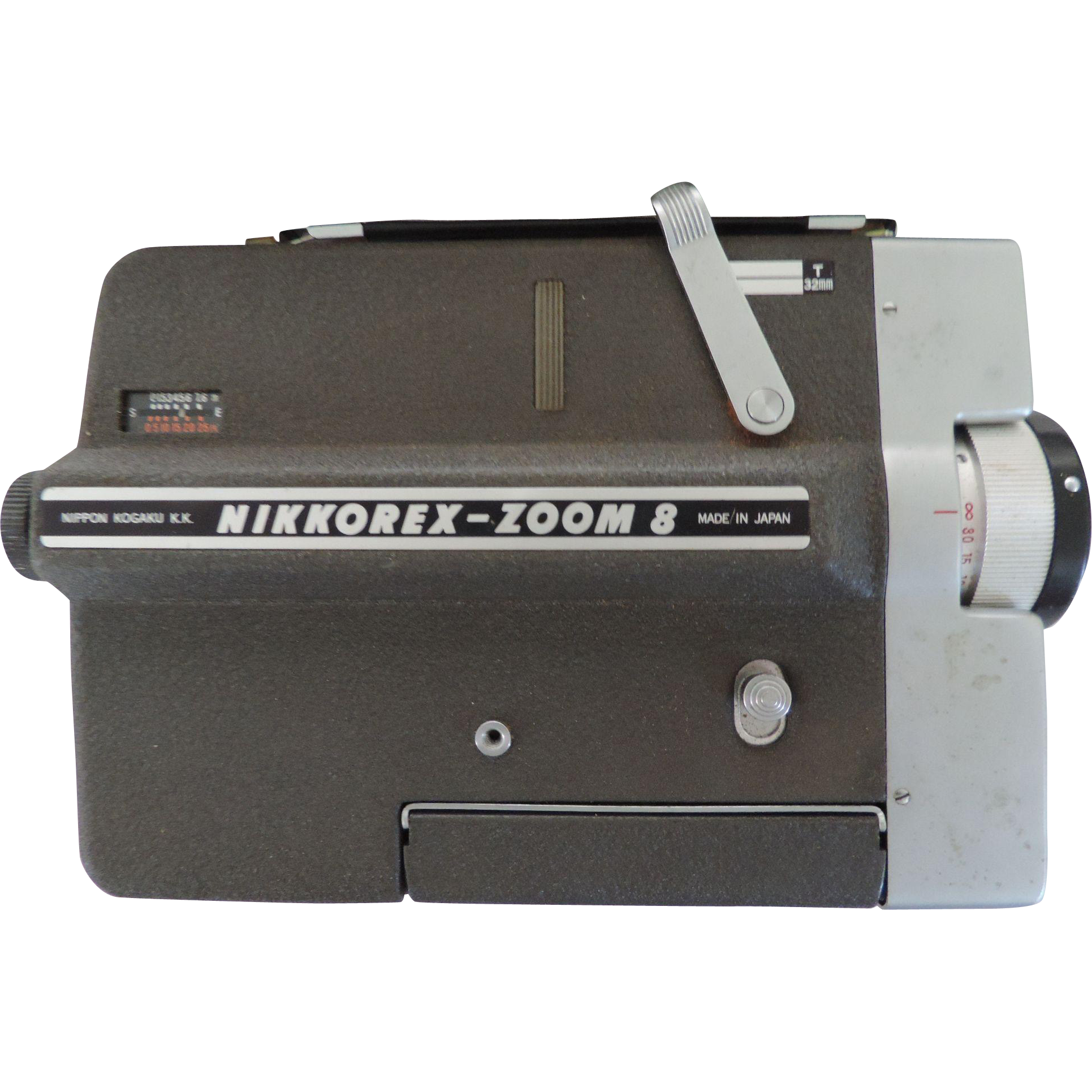 Nikon Nikkorex-Zoom 8 Movie Camera, Case, Instructions
