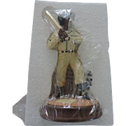 Avon Negro League Figurine, Josh Gibson, Original Box