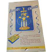 Handmade Angel Chimes, Original Box, Silver Metal, Made In Sweden