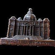 Souvenir Architectural Model, St. Peters Basilica, Rome