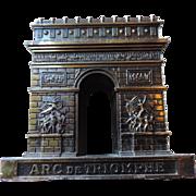 Souvenir Architectural Model, Arc de Triomphe, Paris, France