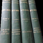 Department of History Collections, South Dakota, Vols  I (1902), II (1904), III (1906), and VI (1912), News Printing Co