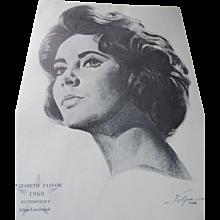 Nicholus Volpe Oscar Winners Charcoal Portraits, 1962, 50 Pieces