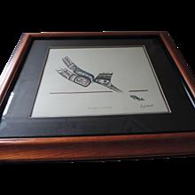 Kingfisher, Jim Gilbert, NW Coast Totemic Art