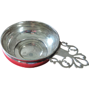 International Sterling Silver Porringer/Baby Feeder