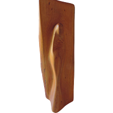 Modernist Madonna, Hand Carved Wood