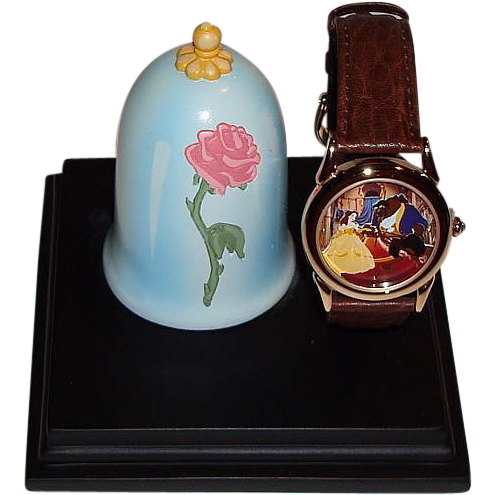 1998 Fossil Beauty And The Beast Collector Club Vii