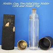 REDUCED Flask or vintage traveling vanity bottle