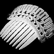 Bride's wedding comb