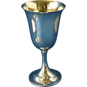 Sterling goblet by International #P664