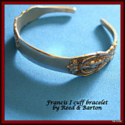 Francis I Sterling bracelet by Reed & Barton