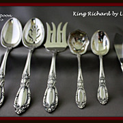 King Richard tablespoon by Towle
