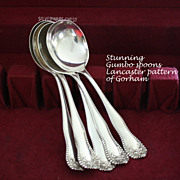 Lancaster by Gorham  gumbo soup spoons
