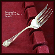 Lancaster by Gorham presents the meat fork