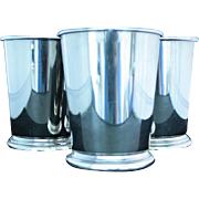Mint  juleps in silver plate