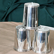 Mint juleps in silver plate made in Italy
