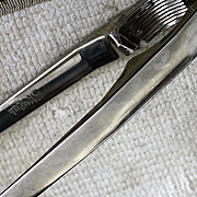 Silver Plate Skylab Nutcracker