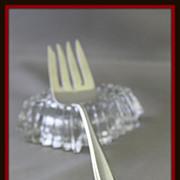 Prelude sterling silver salad fork for multiple uses