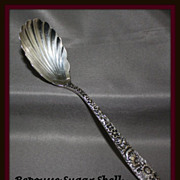 Sugar spoon in Repousse pattern by Kirk