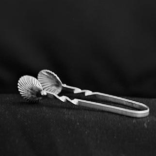Cartier sugar or buffet tongs