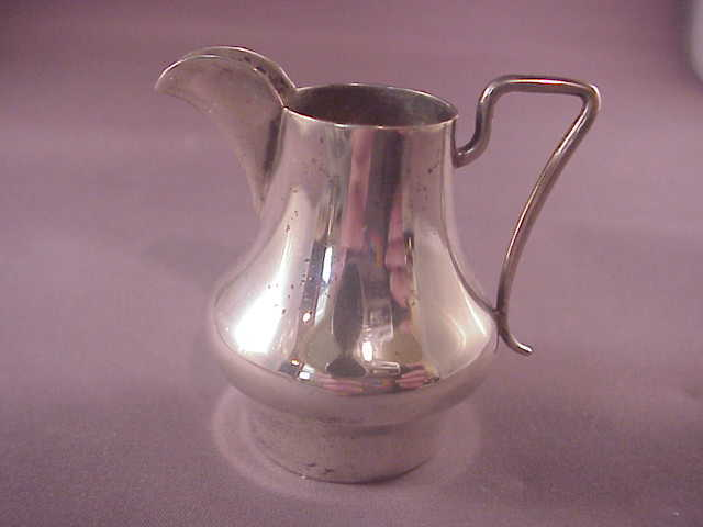Vintage 800 silver miniature pitcher german from albie on for Naugatuck glass company