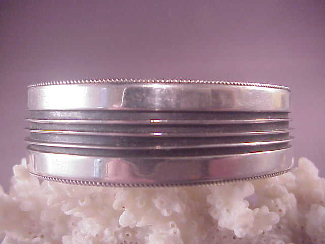 Vintage Sterling Native American Cuff Yazzie From Albie On