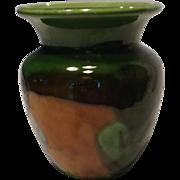 Vintage Haeger Orange Peel Vase Mid Century Modern Pottery