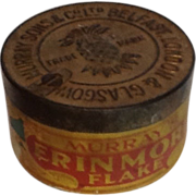 Erinmore Flake Tobacco Tin with Paper Label