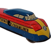 Futurmatic Streamliner Wind Up Toy Train