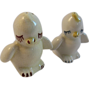 Shawnee Chick Salt and Pepper Shakers