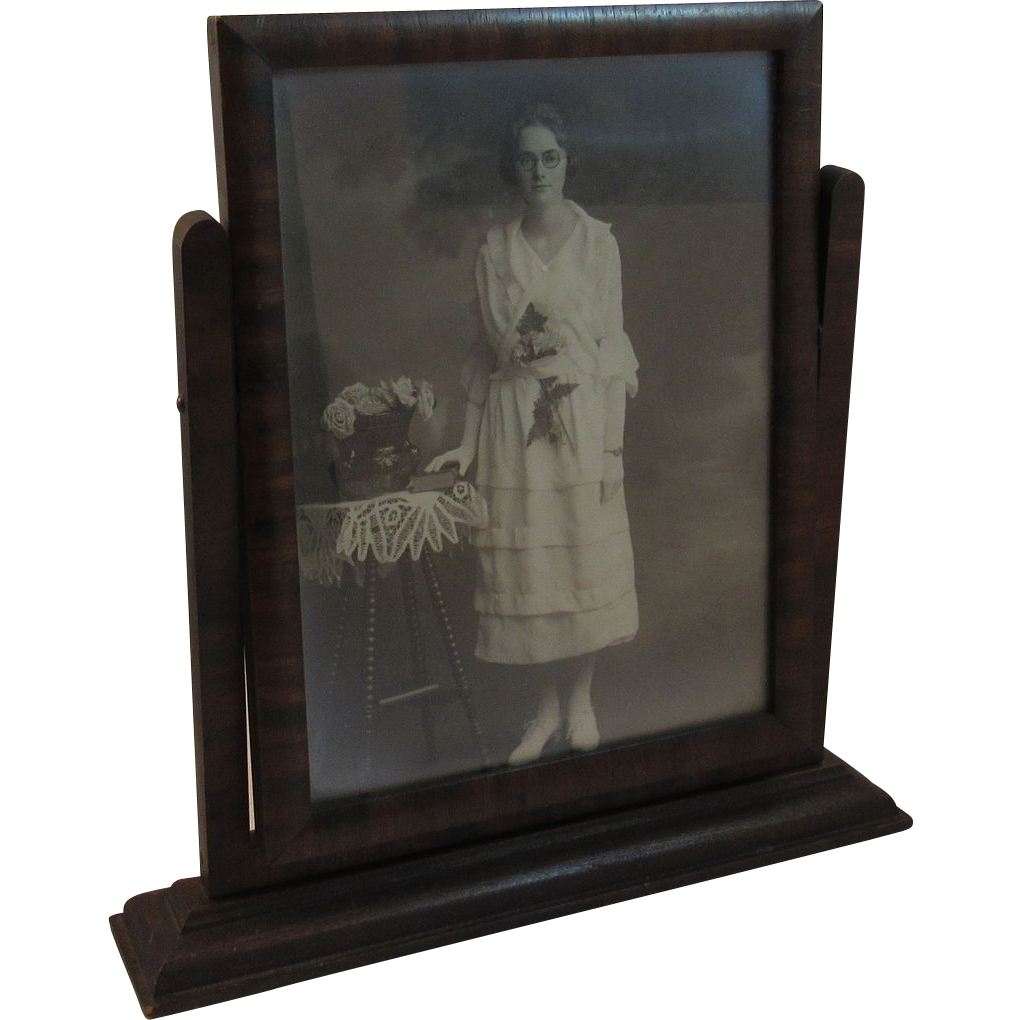 Vintage Swing Frame With Photograph