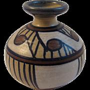 Vintage Street Urchin Pottery Vase
