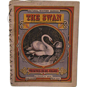 Victorian Children's Book - The Swan McLoughlin Brothers - Red Tag Sale Item