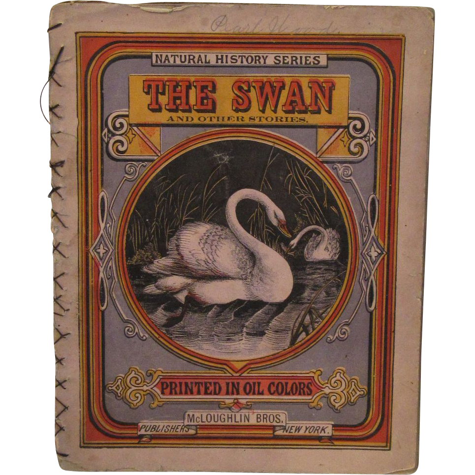 Victorian Children S Book The Swan Mcloughlin Brothers From Ssmooreantiques On Ruby Lane