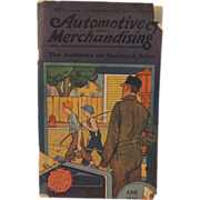 Vintage Automotive Merchandising Book for June 1930
