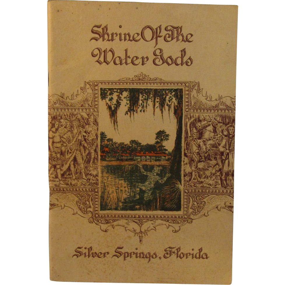 1935 Shrine of the Water Gods Book by Carita Corse
