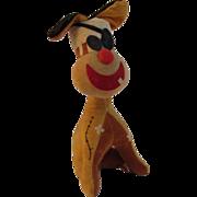Vintage Fun Farm Stuffed Dog Toy