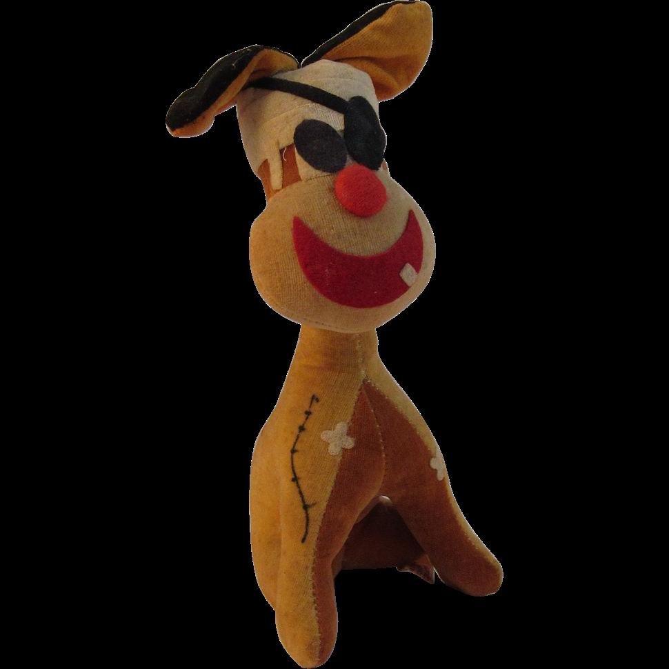 Fun Toy Dogs : Vintage fun farm stuffed dog toy sold on ruby lane