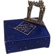 Royal Selangor Pewter Miniature Picture Frame