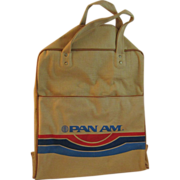 1960's Pan Am Tropical Flight Shoulder Bag