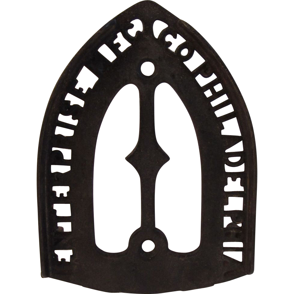 Enterprise Iron Trivet