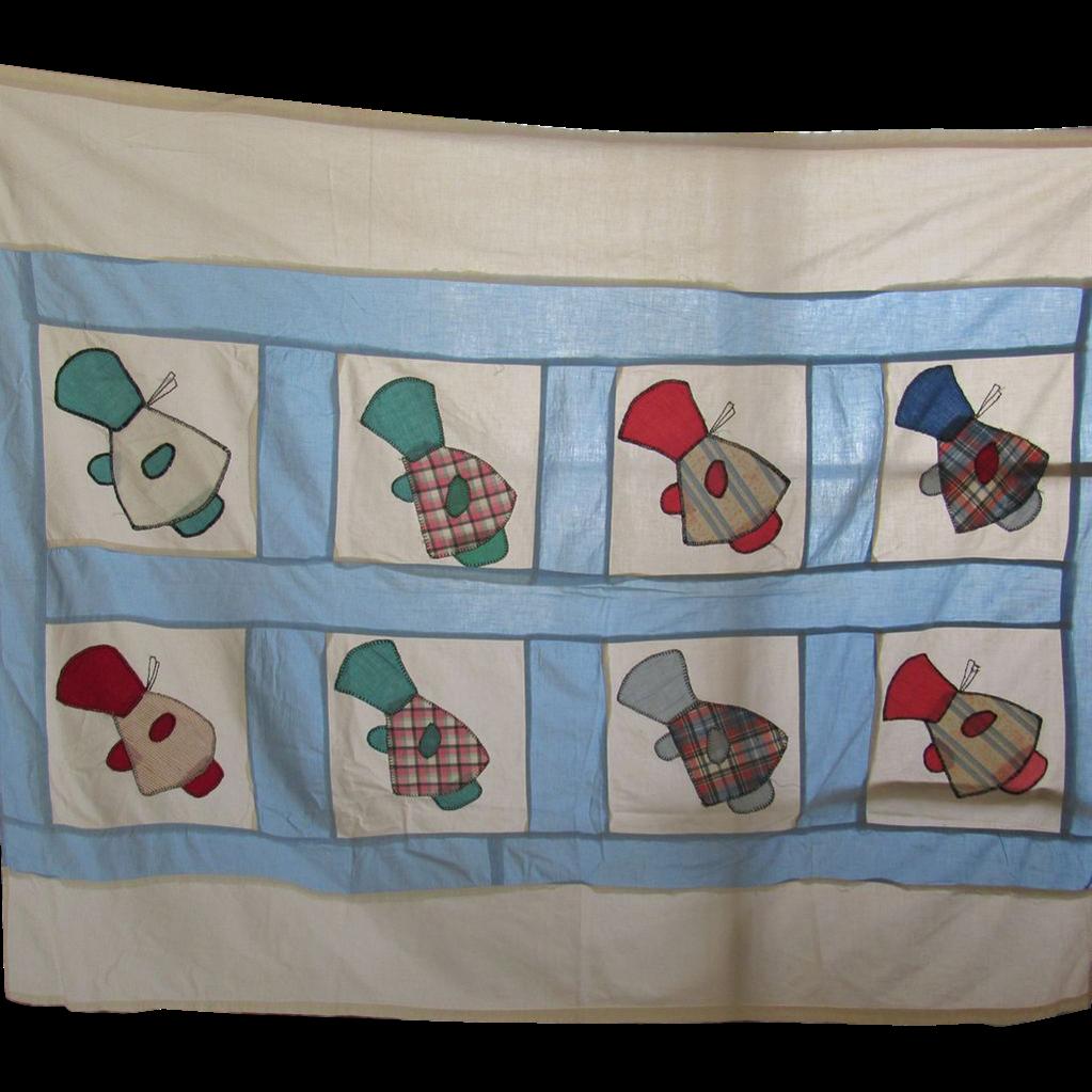 Vintage Quilt Top 3