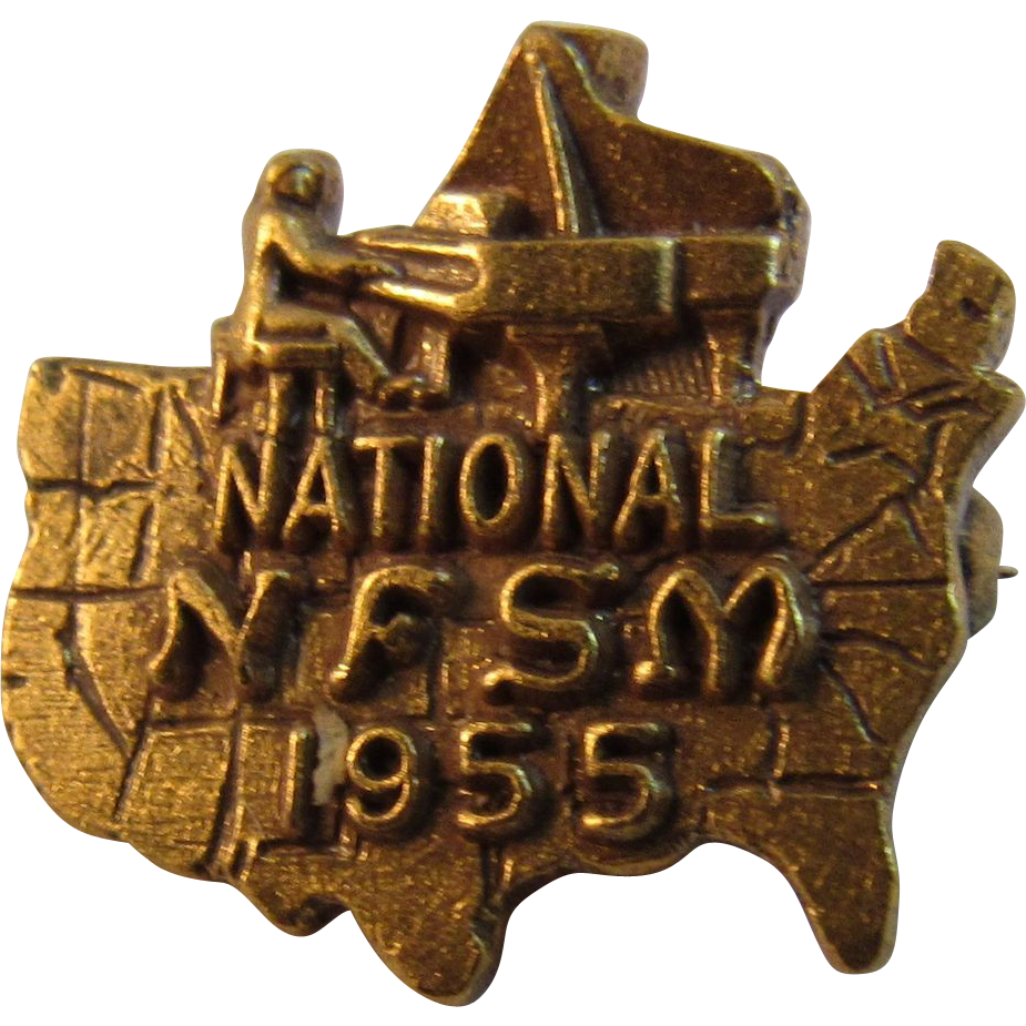 1955 National NFSM Fraternal Pin