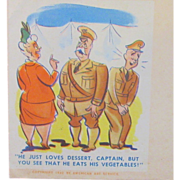 Comical WWII Envelope