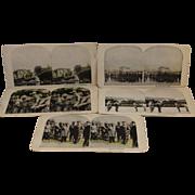 5 WWI World War 1 Stereoview Cards