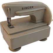 Vintage Toy Singer Sewing Machine