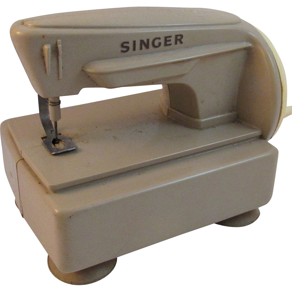Vintage Toy Singer Sewing Machine