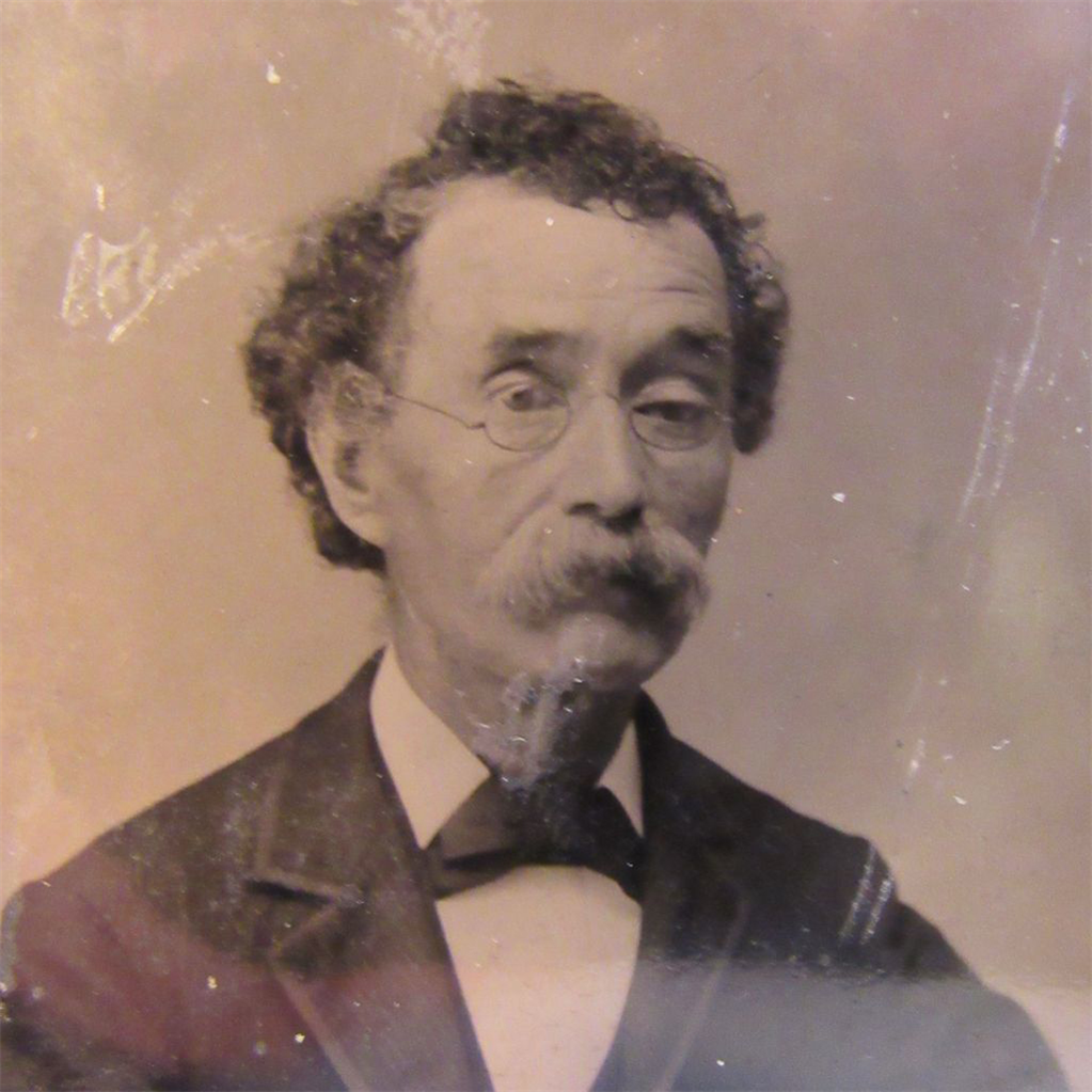 Unusual Tin Type of a Gentleman