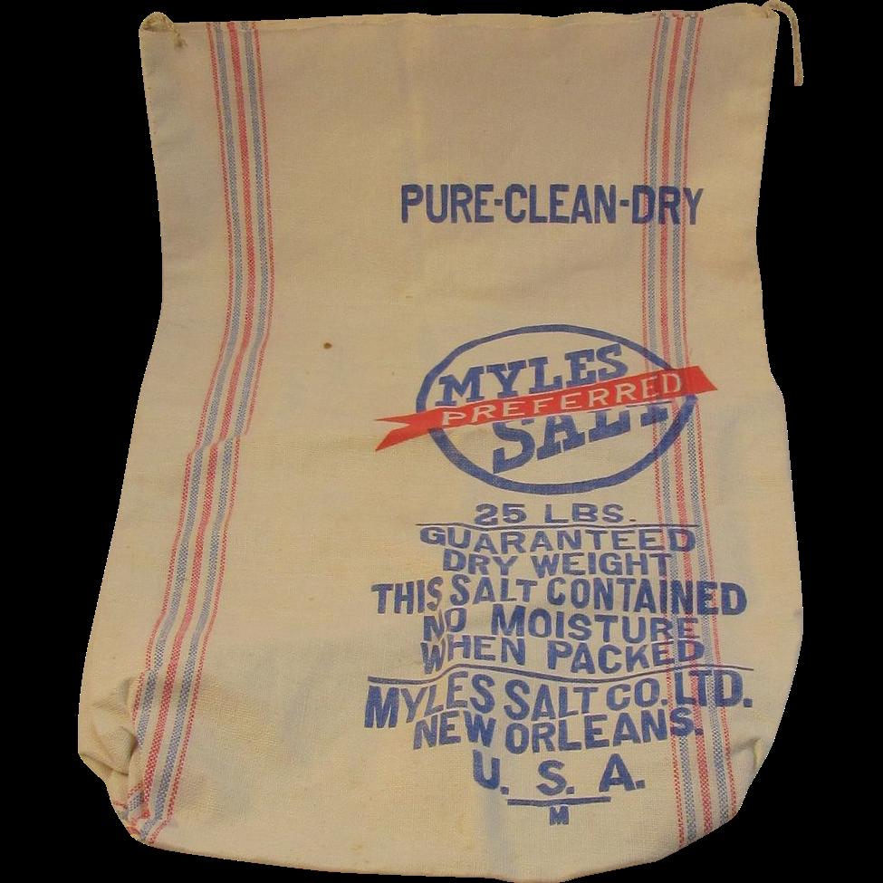 Myles Preferred Salt Cotton Bag - New Orleans 25 Pounds